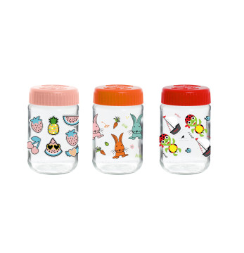 370 cc Decorated Baby Food Jar