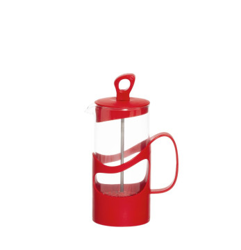 400 cc Tea & Coffee Press - Red