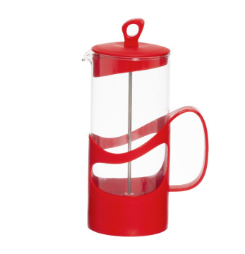 1000 cc Tea & Coffee Press - Red