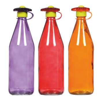 1 lt Coloured Water Bottle
