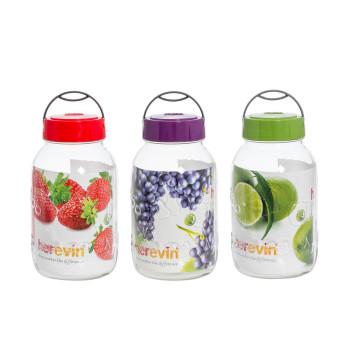 3 lt Embossed Jar
