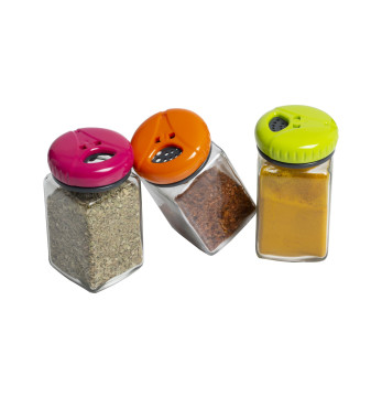 160 cc Square Salt & Pepper Shaker