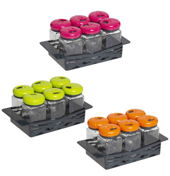 6x160 cc Spice Jar Set