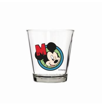 280 cc Decorated Glass-Mickey
