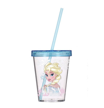 450 cc Tumbler with Straw-Elsa