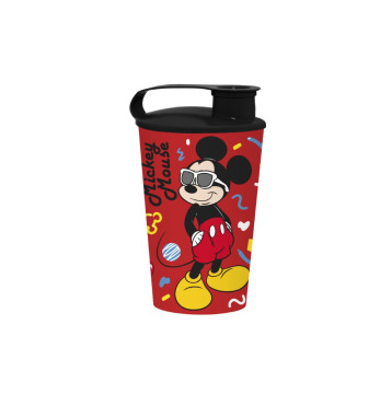 340 cc Licensed Cup with Cap-Mickey Mouse