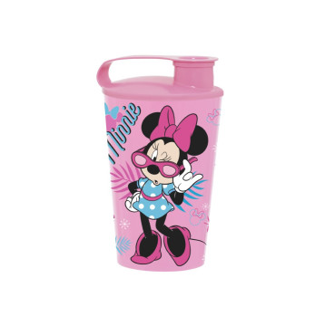340 cc Licensed Cup with Cap-Minnie Mouse