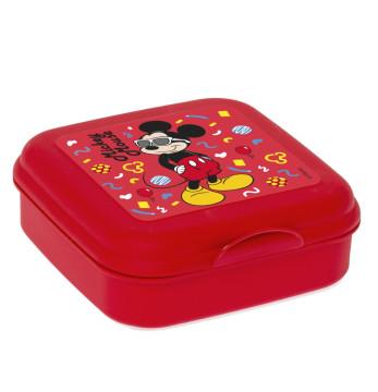 Sandviç Kutusu-Lisanslı-Gözlüklü Mickey