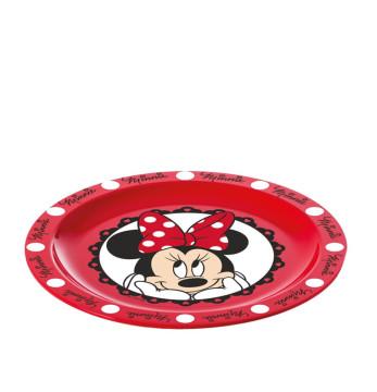 Lisanslı Plastik Tabak-Minnie