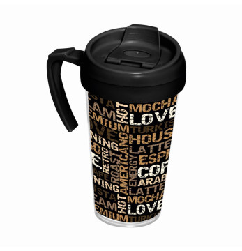540 cc Coffee Mug with Handle - Coffee