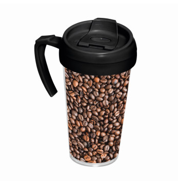 540 cc Coffee Mug with Handle - Coffee Bean