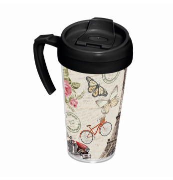 540 cc Coffee Mug with Handle - Paris