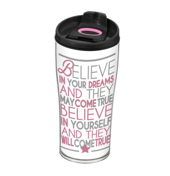 440 cc Decorated Coffee Mug-Believe