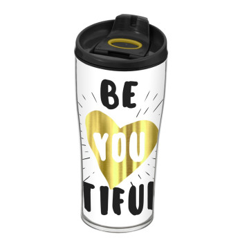440 cc Decorated Coffee Mug-Beatiful