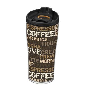 440 cc Decorated Coffee Mug-Coffee
