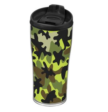 440 cc Decorated Coffee Mug-Camouflage