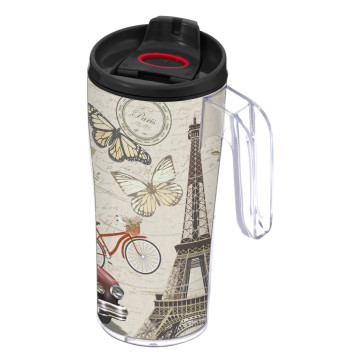 440 cc Coffee Mug with Handle - Paris