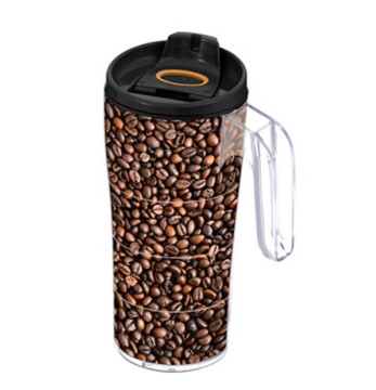 440 cc Coffee Mug with Handle - Coffee Bean