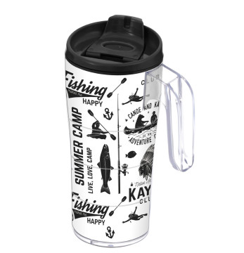 440 cc Coffee Mug with Handle - Ski