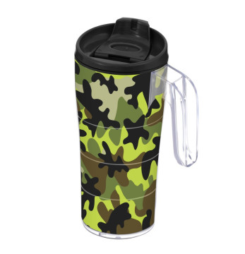 440 cc Coffee Mug with Handle - Camouflage