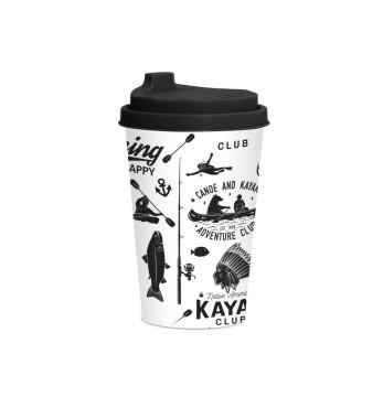 340 cc Coffee Cup - Ski