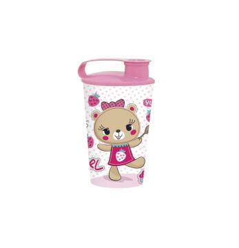 340 cc Tumbler - Pink Bear