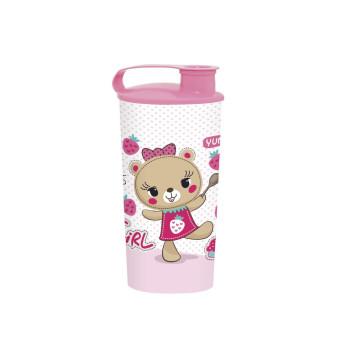 470 cc Tumblers - Pink Bear