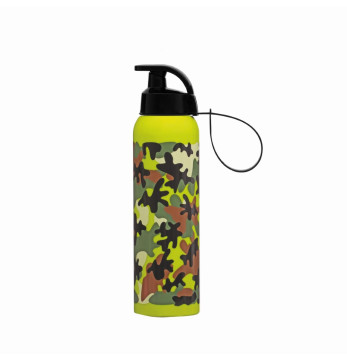0,75 lt Water Bottle with Hanger-Camouflage