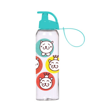 0,75 lt Water Bottle with Hanger-Cats