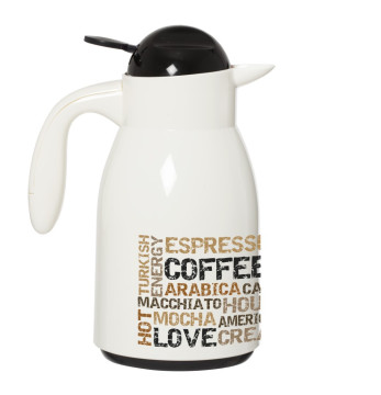 Decorated Vacuum Flask-Coffee