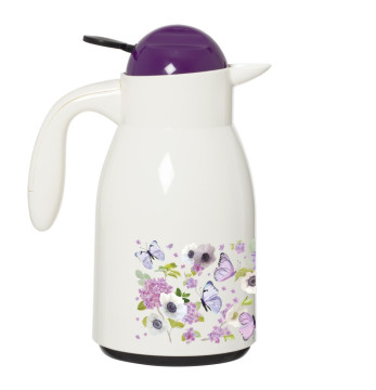 Decorated Vacuum Flask-Butterfly