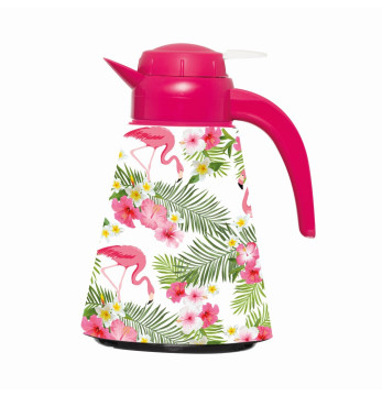 1,2 lt Conical Thermos - Flamingo