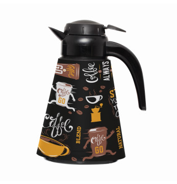 1,2 lt Conical Thermos - Coffee
