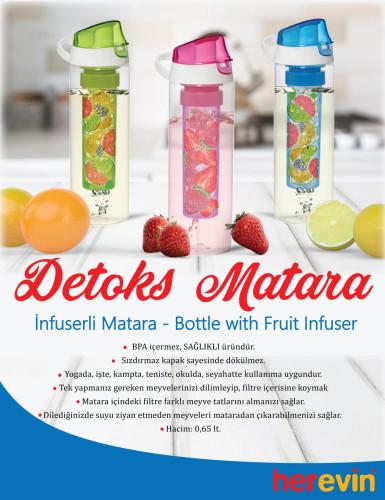 İNFUSERLİ DETOKS MATARA