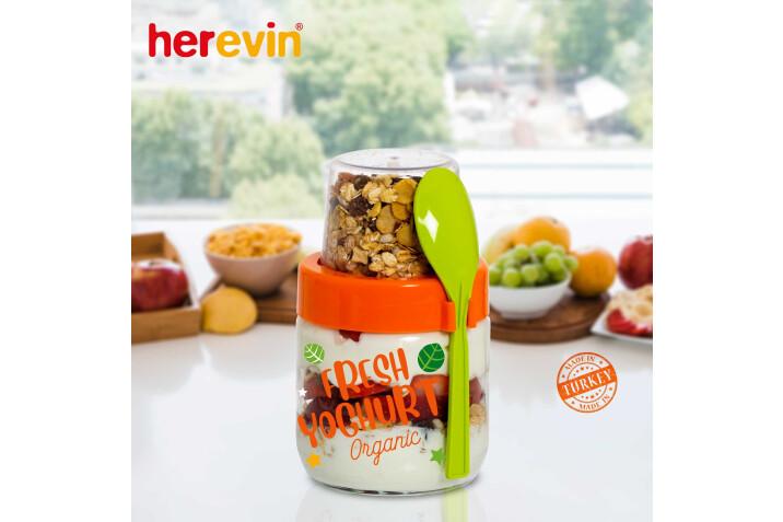 131615 000 Yogurt Kavanozu Turuncu